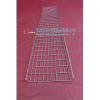 China 500 x 50 Zinc Stainless Steel Wiremesh Cable Tray Indoor For Flat wholesale