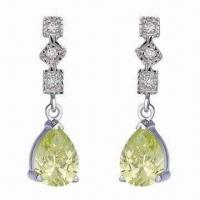 China Fashionable Silver Earrings/925 Sterling Earrings/925 Silver Jewelry, Promotional Gifts wholesale