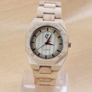 Buy cheap Подгонянные напряженные деревянные наручные часы с пряжкой рогатки, стандартом РоХС КЭ from wholesalers