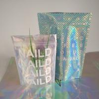China Zip Lock Plastic Pouches Packaging / Holographic Mylar Plastic Bag Laser Printed wholesale
