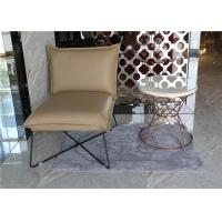 China Luxury Customized White Hotel Coffee Table Stainless Steel / Metal Frame With Hotel Chair wholesale