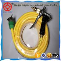 Colorful high pressure Flexible Fiber wire Braided Reinforce Plastic Garden Spay Hose to deliver water