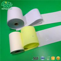 China Light Resistance NCR Carbonless Paper High Brightness Wood Pulp Printing Rolls / Sheet wholesale