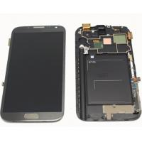 China samsung galaxy note 2 n7100 Assembled Digitizer frame Assembly LCD Touch Screen wholesale