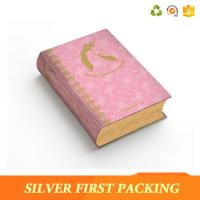 China Silver First custom hard cover full color book printing paper packaging box on sale