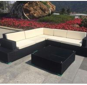 China Aluminum Frame PE Rattan sofa set Arsigali AW0032 wholesale