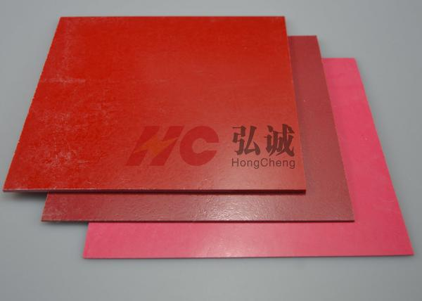 Quality Red GPO3 Fiberglass Sheet / Fiberglass Resin Sheets Specified For Automotive Electronic for sale