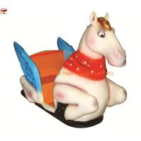 China Flying Horse Amusement Kiddie Rides Machine by Coin Operated With Music PTC-K26 on sale