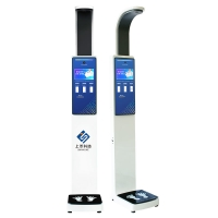 China 10.2 inch large lcd display height weight measurement digital computing scale wholesale