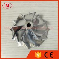 China RHG6 60.65/82.05mm 6+6 blades high performance turbo billet/milling/aluminum 2024 compress wholesale