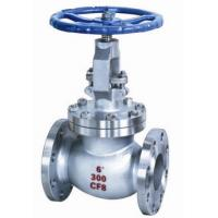 Water Oil Stainless Steel Globe Valve 150 - 300lbs for regulating flow in a pipeline