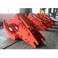 China Doosan 500 Excavator Mechanical Rock Grapple wholesale