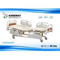 Three Functions Electric Care Hospital Bed With Plastic Base In X-Ray Room for sale