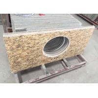 China Polished Granite Vanity Countertops / Granite Slab Countertop With Sink Hole wholesale