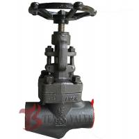 China 1.5 Inch Industrial Forged Steel Globe Valve Class 800  A105N J11H NPT Threaded Ends wholesale