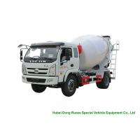 China YUEJIN 5m3 Small Concrete Mixer Truck With Pump , 4x2 Mobile Mixer Truck wholesale