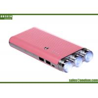 China Square Tube Flashlight Power Bank , Smart Phone Battery Charger Power Supply wholesale