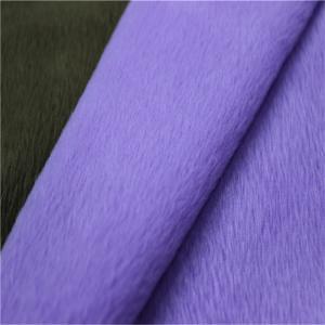 China chiffon fabric velboa polyester fabric chiffon fabric on sale