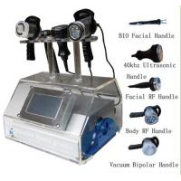 China 5 In 1 Vacuum Ultrasound RF Cavitation Slimming Machine For Arms Fat Removal wholesale