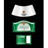 China Aluminium foil beer label wholesale