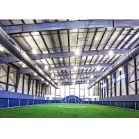Buy cheap Single Slope Clear Span Prefab Steel Workshop Sports Complex With A Partial from wholesalers