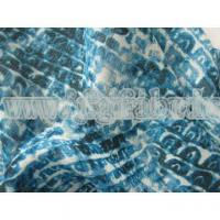 China 100% Polyester Chiffon Fabric Twisted Crepe Chiffon Printed SF-046 wholesale