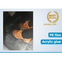 China Car carpet clear protective film 21 inch 300 foot 4 mil thick plastic wholesale