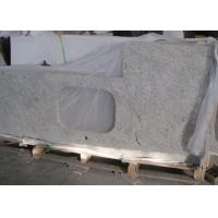 "China Customized Kashmir White Granite Countertops , Kitchen Cabinet Countertop 43""X22"" on sale"