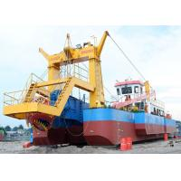 China Customized Channel Hydraulic Dredging Equipment , Sand Dredging Machine on sale