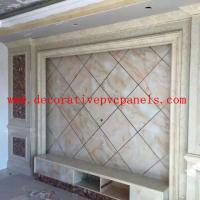 Indoor Decoration Marble Stone UV Board Wall Cladding WPC Panel
