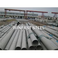 China Seamless Boiler Tubes ASTM A213 / A312 SS Pipe Annealed Low Carbon on sale