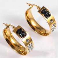 China Latest Model Artificial Hoop Earrings , Fashion Hanging Round Hoop Earrings on sale