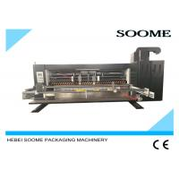 China Industrial Die Cutting And Creasing Machine For Corrugated Cardboard Carton Box wholesale