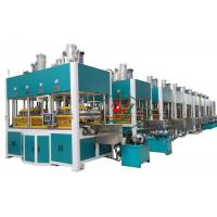 China Disposable Molded Pulp Paper Tableware Making Machine for Plate / Cup / Dish Tray Thermoforming wholesale