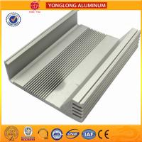 Heat Insulating Aluminum Heatsink Extrusion Profiles Environment Protected for sale