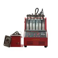 China Launch CNC 602A Fuel Injector Cleaner Machine Auto Fuel Injector Tester With Ultrasonic Cleaner on sale