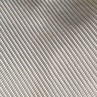 China White color twill woven fiberglass clothes for insulation or composite material on sale