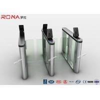 China Acrylic Swing Access Control Turnstiles Face Recognition For Business Building wholesale