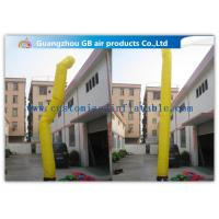 China Colorful Tube Shape Inflatable Advertising Signs Inflatable Air Dancer In Sky on sale