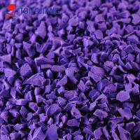 Buy cheap Old manufacturer of SGS Labo test purple EPDM rubber granules competitive price from wholesalers