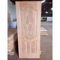 China Swing Open Sapele MDF Door Skin Panel For Exterior Wood Doors 2-4mm Thickness wholesale