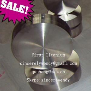 China Ti-6AL-4V titanium disks wholesale