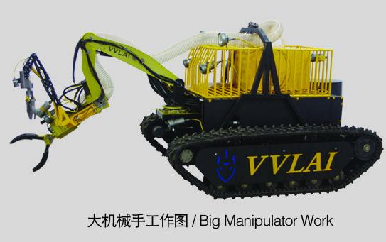 Quality 深海掘削のためのROV VVL-LD260-1800を浚渫している二重5の軸線の油圧マニピュレーター for sale