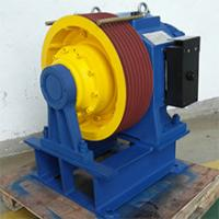 China 1150kg,1m/s Permanent Magnet Synchronous Geared planet traction machines wholesale