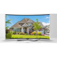 China Large Digital UHD 4K Curved LED TV 3840 x 2160 Pixel With Android System wholesale