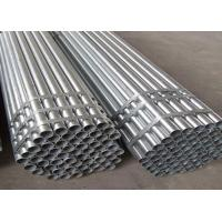 China Thick Wall Seamless Black Steel Pipe High Pressure With Plastic Caps 3m - 8m wholesale