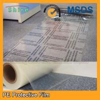 China Custom Plastic Floor Covering Roll Protective Plastic Film For Carpets wholesale