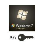 32/64 Bit DVD Microsoft Windows 7 Ultimate Fpp With Multi Language