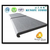 China Xiamen Kungfu Stone Ltd supply Grey Granite Swimming Pool Tiles In High quality and cheap price wholesale