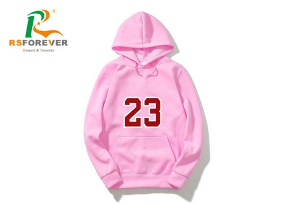 Quality Custom Long Sleeve Thin Women's Pullover Hoodies Water - Repellent for sale